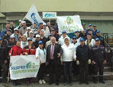 Сотрудники газовых компаний республики провели  экологический субботник