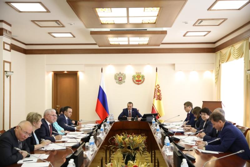 Совещание по вопросам задолженности за поставленный природный газ 18.05.2018